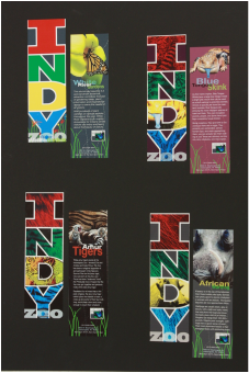 Indianapolis Zoo Bookmarks